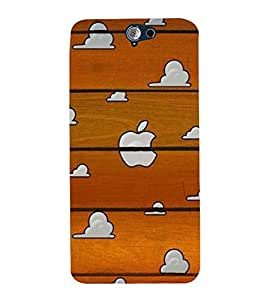 Vizagbeats wood and clouds Back Case Cover for HTC One A9
