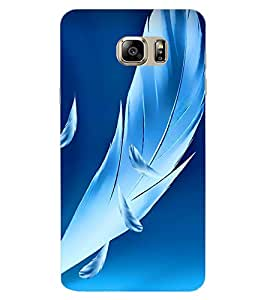 ColourCraft Lovely Feathers Design Back Case Cover for SAMSUNG GALAXY NOTE 7