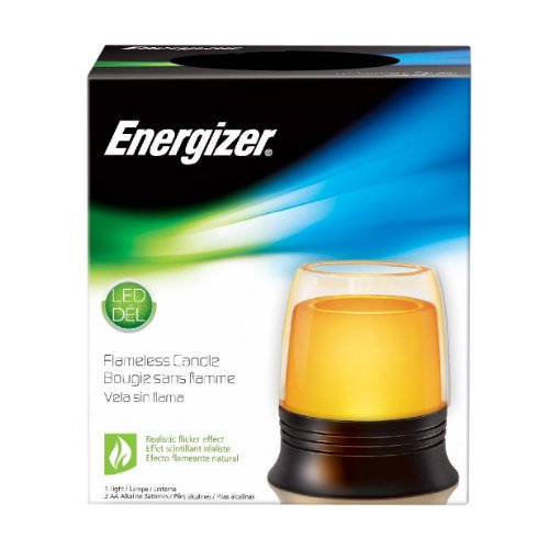 Energizer Household Lighting Hrg4Cn31E Led Flameless 4-Inch Candle With Holder
