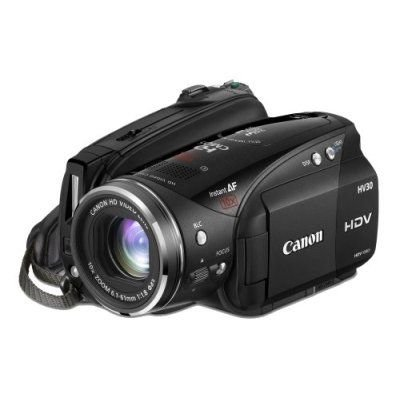Canon HV30 High Definition Camcorder (10 x Optical Zoom With 2.7 inch Widescreen Multi-Angle Vivid LCD)
