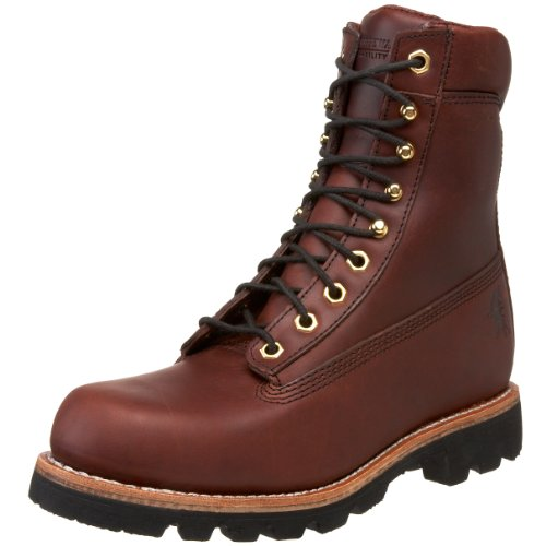 "Chippewa Men's 72005 8"" Redwood Lace-Up Boot,Redwood,11.5 M US"