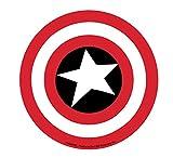 CAPTAIN AMERICA SHIELD Sticker, Licensed Marvel's The Avengers Comic Superhero, 4