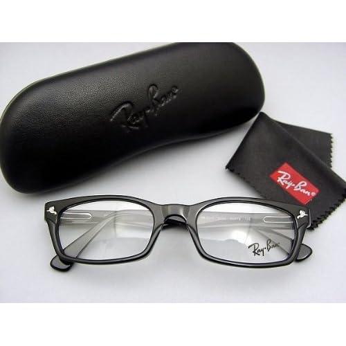 大人気! ドラゴンアッシュ降谷建志氏使用モデル★レイバンRX5017A-2000★Ray-ban レンズ付き 伊達眼鏡セット