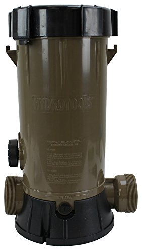 Hydro Tools 8750 Super Premium In-Line Automatic Pool Chlorine Feeder (Automatic Pool Chlorine Dispenser compare prices)