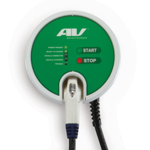 AeroVironment Residential EV Charger, 25' cable (Level 2 EVSE-RS: 7.2kW, 30A)