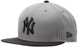 MLB New York Yankees MLB Basic Stm Gry 59Fifty by New Era