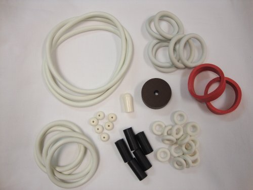 Data East Secret Service Pinball White Rubber Ring Kit