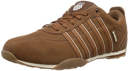 K-Swiss - Sneaker, Uomo, Marrone (Braun (COGNAC/SADDLE/ANTQ WHITE - 213)), 42
