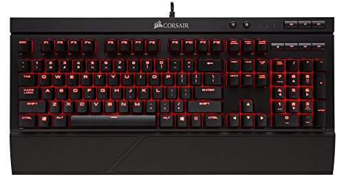 커세어 MX RGB 기계식 게이밍키보드 K68 - Corsair Gaming K68 Mechanical Keyboard, Backlit LED, Cherry MX Red, Dust and Spill Resistant
