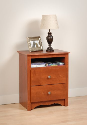 night stand cherry finish