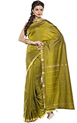 BANGALORE DUPIAN AND FLORAL SILK SAREE COLLECTIONS-DarkGreen-POSB1541A-VN-Art Silk Silk-DarkGreen-POSB1541A-VN-Art Silk Silk