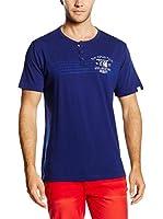 THE INDIAN FACE Camiseta Manga Corta (Azul Marino)