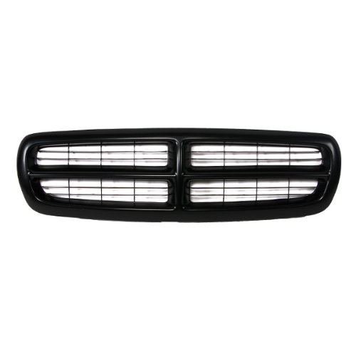 CarPartsDepot, Front Pickup Grille Grill Replacement Upgrade New Cross Bar Raw Black, 400-17118 CH1200200 5EH12DX8 (1998 Dodge Dakota Grill compare prices)