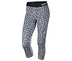 Nike Womens Pro Training Capris Gray X-Small