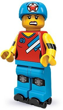 Lego-71000-Series-9-Minifigure-Roller-Derby-Girl