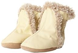 Robeez Classic CM Crib Shoe (Infant/Toddler),Cream,0-6 Months M US Infant