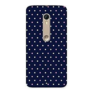 Stylish Colorful Dots Prints Back Case Cover for Motorola Moto X Style