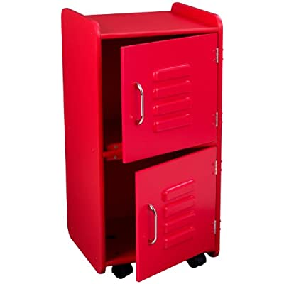 KidKraft Locker (Medium, Red)