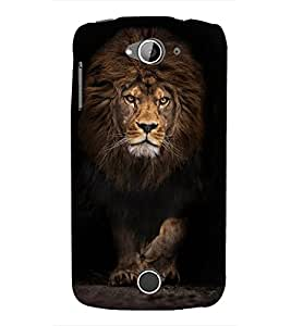 LION A POWERFULL CREATION OF NATURE 3D Hard Polycarbonate Designer Back Case Cover for Acer Liquid Z530