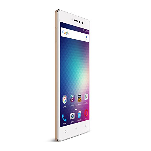 BLU VIVO 5R Refresh Smartphone - 5.5-Inch Display 4G LTE GSM Unlocked, GOLD (Phones Blu Accessories compare prices)