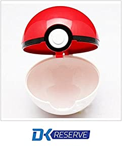 (2-Pack) Pokemon Pokeball Toys with Action Figure Inside- Real Toy Pokeballs that Open- Includes Two Pokemon Figurines & Pokeballs | DK Reserve Toys by DK Reserve