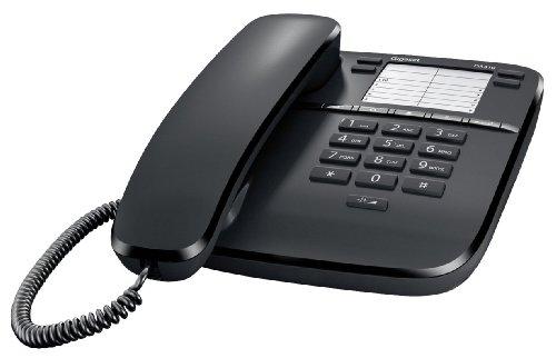 Gigaset DA 310 Telefono da Tavolo, Colore Nero