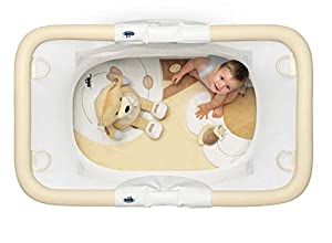 Padded Playpen With Multifunction Playing Carpet Cam Brevettato Millegiochi C219 - ORSO by Cam