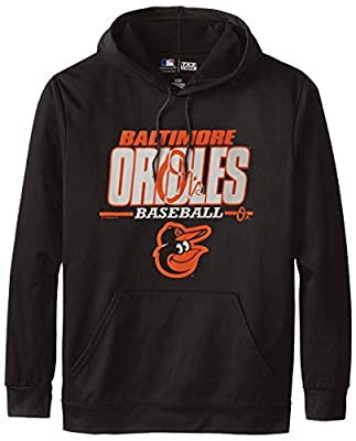 MLB Baltimore Orioles Men's SA2 Fleece Hoodie