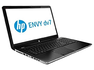 """HP ENVY dv7t Quad Edition Entertainment Notebook PC (dv7tqe) 17.3"""" 900P Laptop / 3rd generation Intel Core i7-3630QM Processor (IVY BRIDGE) / 1GB 630M GDDR3 Graphics / 8GB DDR3 System Memory / 750GB 5400RPM Hard Drive / Blu-ray player / Backlit Keyboard / Beats Audio / 2 year manufacure warranty / Windows 8"""