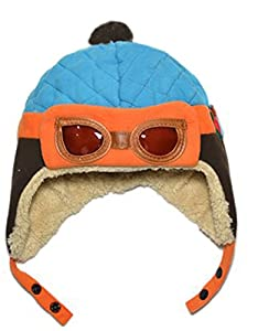 Cool Unisex Toddlers Baby Cap Hat Beanie Winter Pilot Aviator Wool Lined
