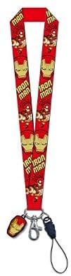 Marvel Iron Man 3 Lanyard with Card Holder