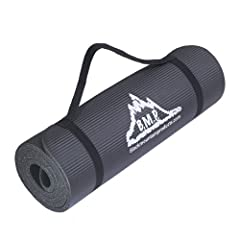Buy Black Mountain Products Yoga and Exercise Mat, 1 2 x 73 1 2 x 24 1 2-Inch by Black Mountain
