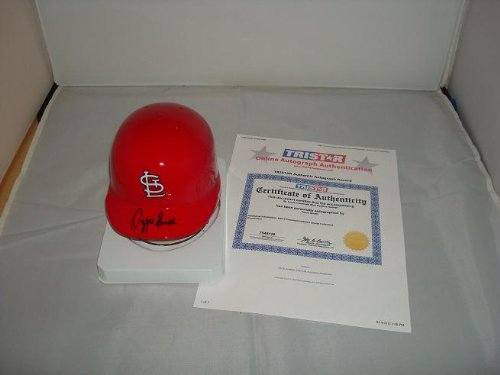 Ozzie Smith Signed St. Louis Cardinals Mini Helmet, TRISTAR Authentic at Amazon.com