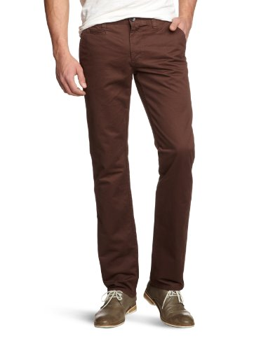 Selected Homme Jeans Paris Chino Relaxed Men's Trousers Brown W30INxL32IN