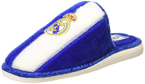 Andinas Real Madrid F.C Calzatura, Blu/Bianco, 43