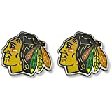 NHL Chicago Blackhawks Logo Post Earrings