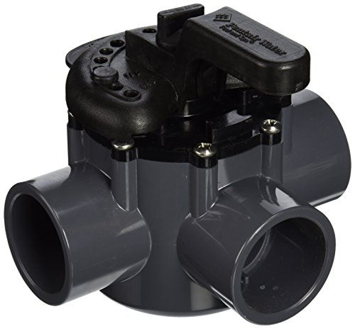 Pentair 263037 3-Way PVC 1-1/2 inch (2 inch slip outside) Pool And Spa Diverter Valve (Swimming Pool Valves compare prices)