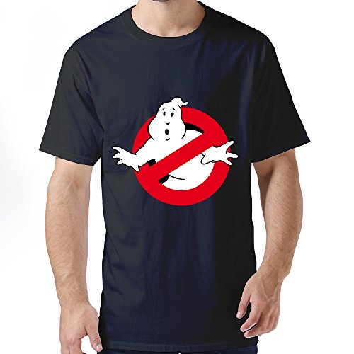 ZWSY Men's T Shirt Comedy Ghostbusters Size XL Black (Razor Scooter Ninja Turtles compare prices)