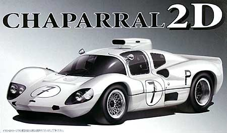 1/24 Scale Chaparral 2D Race Car 1966 Late Type Construction Kit Model