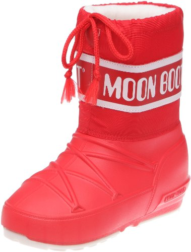 Tecnica MOON BOOT POD JR NERO 340201, Unisex-Kinder Schneestiefel, Rot (Red 2), EU 33