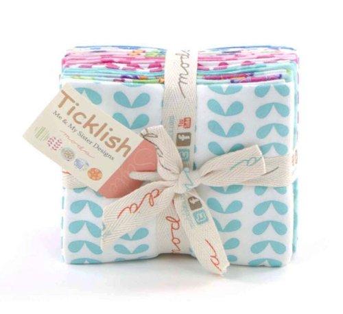 Moda Ticklish Flannel Fabric Fat Quarter Bundle 22190ABF