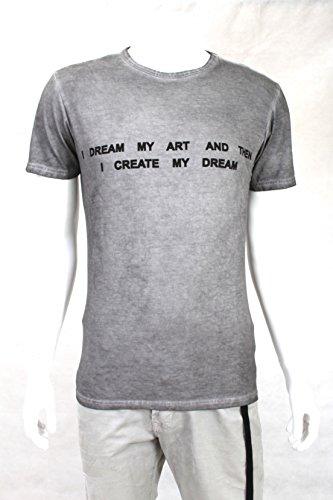 Daniele Alessandrini T-shirt A/I 15-16 Mod. Peron ST/T M5694E4373505 - S, Grigio
