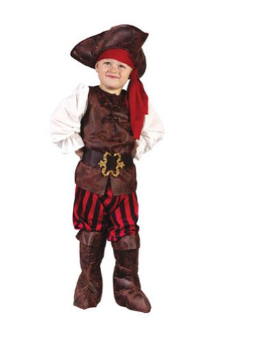 Baby-Toddler-Costume High Seas Pirate Toddler Costume Boy Halloween Costume