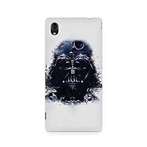 Motivatebox- Illustrated Darth Vader Premium Printed Case For Sony Xperia M4 -Matte Polycarbonate 3D Hard case Mobile Cell Phone Protective BACK CASE COVER. Hard Shockproof Scratch-