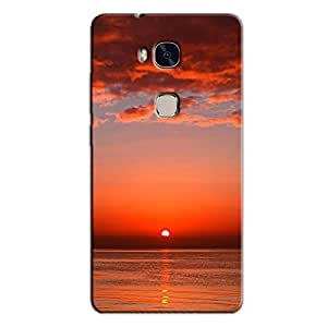 MORNING SUNRISE VIEW BACK COVER HONOR 5X
