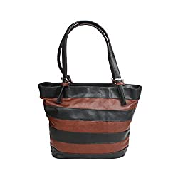 D-ROCK - Handbags for Women -Black & Brown - HB-007