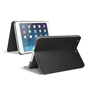 Anker iPad mini Retina/iPad mini2/iPad mini3 専用 合皮レザーケース インナーケース&マルチアングルスタンド付属 オートスリープ機能付き (ブラック)