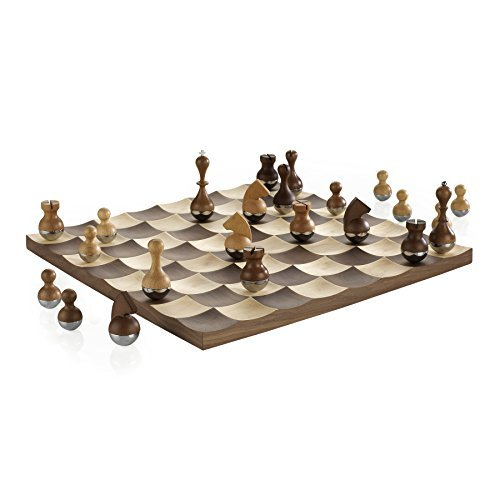 Wobble Chess Set by Umbra by Umbra