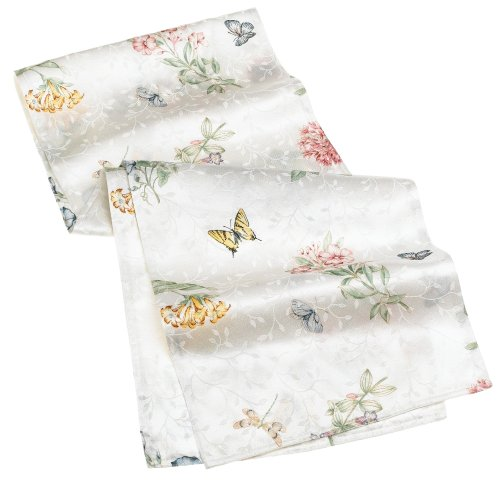 Lenox Butterfly Meadow 70-inch Table Runner - Buy Lenox Butterfly Meadow 70-inch Table Runner - Purchase Lenox Butterfly Meadow 70-inch Table Runner (Lenox, Home & Garden, Categories, Kitchen & Dining, Kitchen & Table Linens, Table Runners)