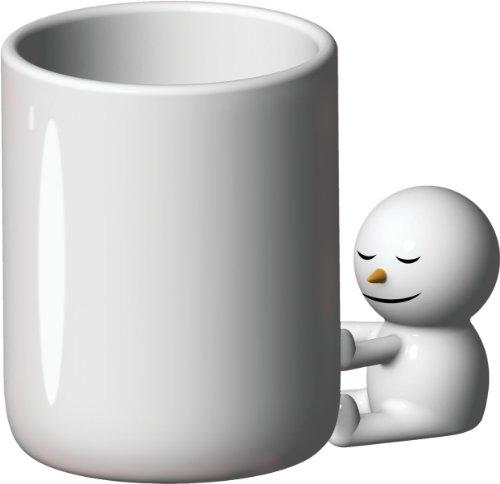 【正規輸入品 食品検査合格品】 ALESSI アレッシィ FIGURE フィギュア The hug mug マグカップ (雪だるま) AMGI18